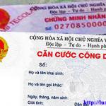 Năm 2016 CMND sẽ được thay thế bằng Thẻ căn cước