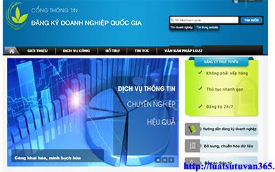 Hướng dẫn đăng ký doanh nghiệp qua mạng điện tử