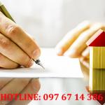 Hợp đồng liên quan đến nhà đất không phải công chứng