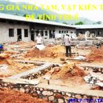Bảng giá nhà tạm, vật kiến trúc để tính thuế xây dựng
