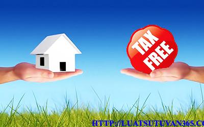Các trường hợp được miễn thuế khi tặng cho đất
