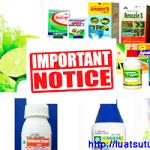 Một số lưu ý khi xin cấp giấy phép nhập khẩu thuốc bảo vệ thực vật