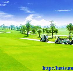 Xin cấp giấy phép đủ điều kiện kinh doanh sân Golf