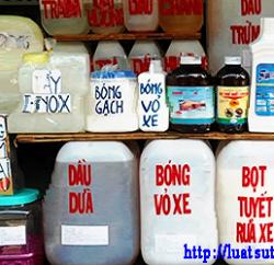 Hướng dẫn xin giấy phép đủ điều kiện kinh doanh hóa chất