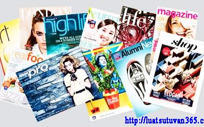 Thủ tục xin giấy phép thành lập tạp chí